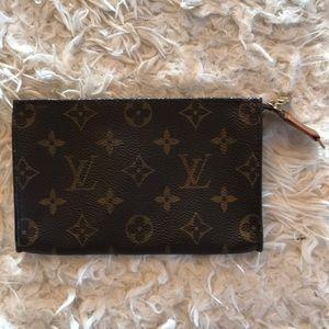 Authentic Louis Vuitton pouch.